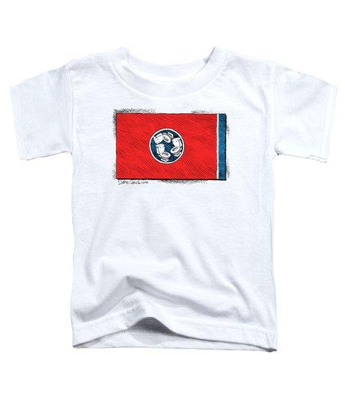Tennessee Bathroom Flag Toddler T-Shirt
