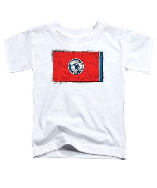 Tennessee Bathroom Flag Toddler T-Shirt