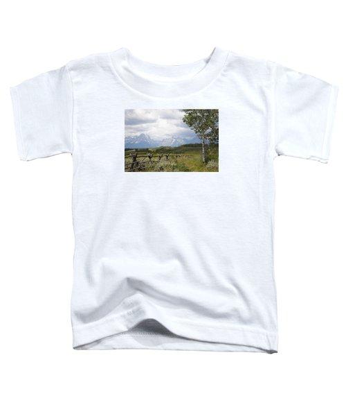 Teton Ranch Toddler T-Shirt
