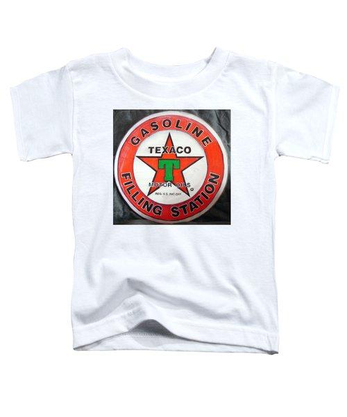 Texaco Sign Toddler T-Shirt