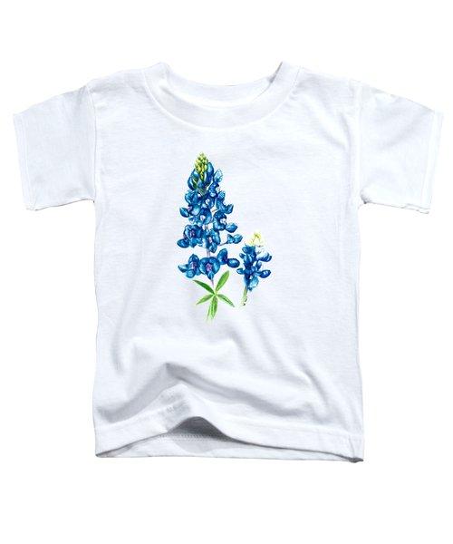 Texas Bluebonnet Toddler T-Shirt
