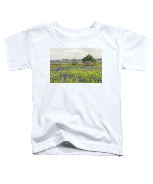 Texas Bluebonnets 3 Toddler T-Shirt