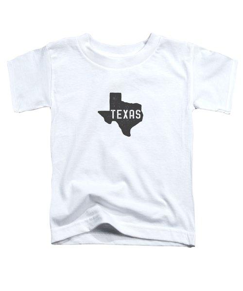 Texas Map Tee Toddler T-Shirt