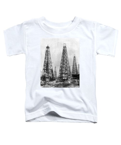 Texas: Oil Derricks, C1901 Toddler T-Shirt