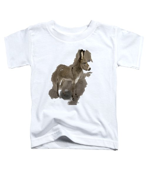That Cute Donkey Foal In Profile Toddler T-Shirt