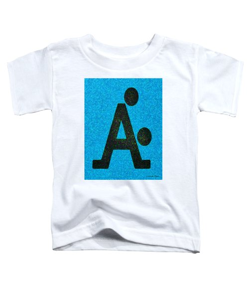 The A With Style Blue - Pa Toddler T-Shirt