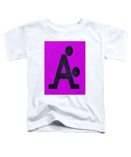 The A With Style Purple - Pa Toddler T-Shirt