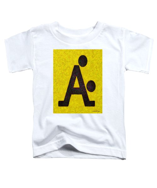 The A With Style Yellow - Pa Toddler T-Shirt