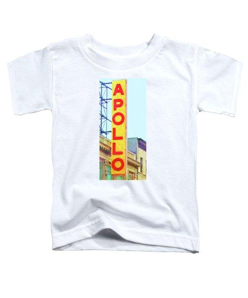 The Apollo Theater In Harlem Neighborhood Of Manhattan New York City 20180501v2 Toddler T-Shirt