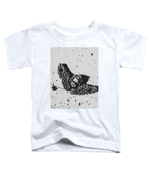 The Art Of A Vintage Angel Toddler T-Shirt