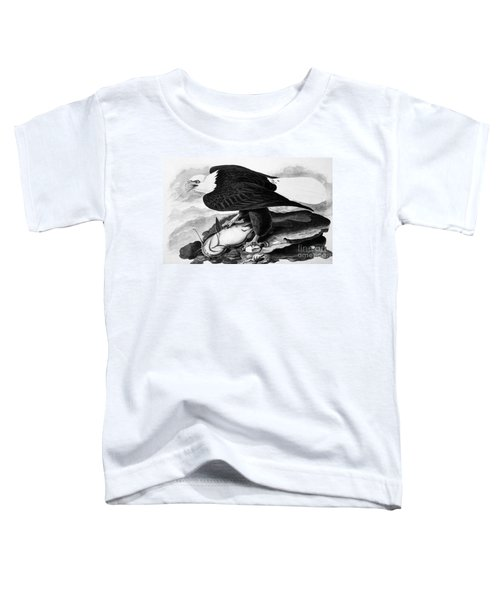 The Bald Eagle Toddler T-Shirt