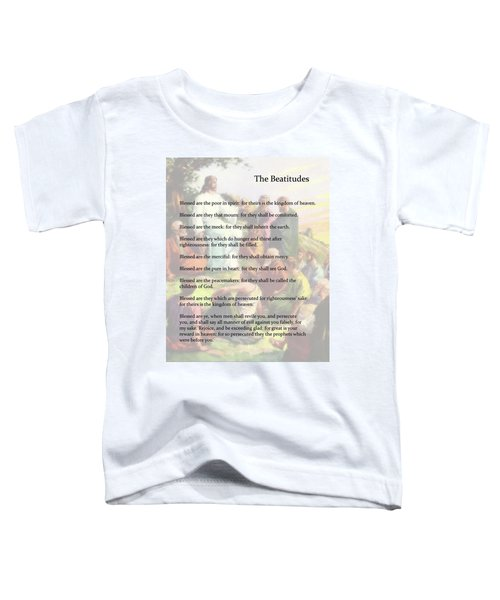 The Beatitudes Toddler T-Shirt