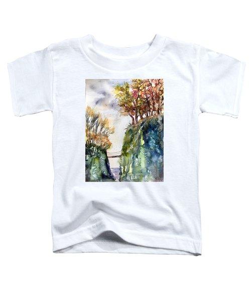 The Bridge Between Two Worlds Toddler T-Shirt