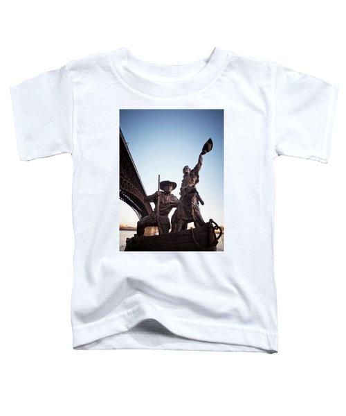 The Captain Returns Toddler T-Shirt