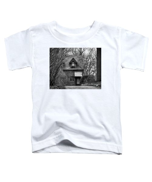 The Carriage House In Black And White Toddler T-Shirt