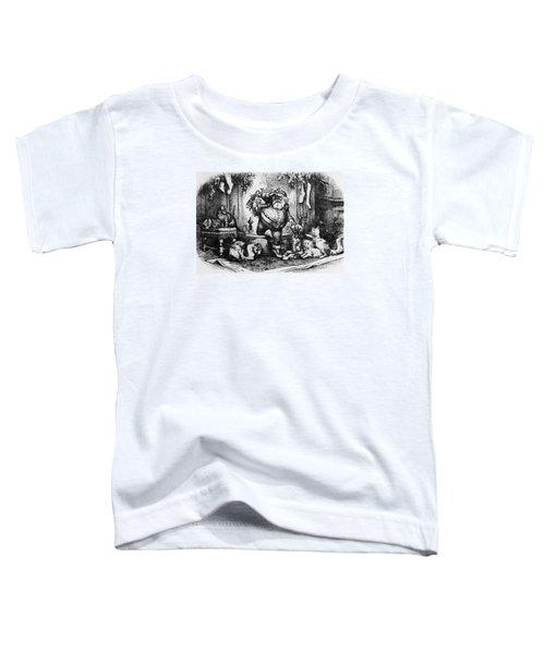 The Coming Of Santa Claus Toddler T-Shirt