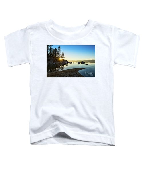 The Cove At Sand Harbor Toddler T-Shirt