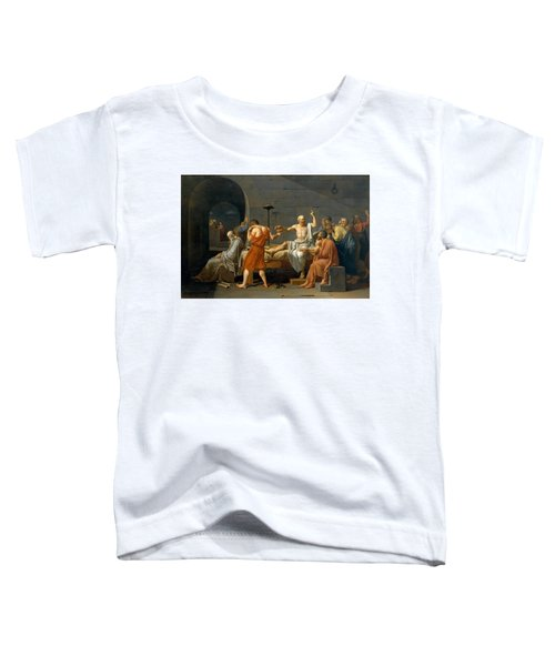 The Death Of Socrates - Jacques-louis David  Toddler T-Shirt
