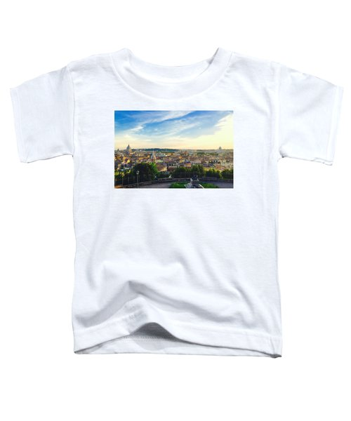 The Domes Of Rome Toddler T-Shirt
