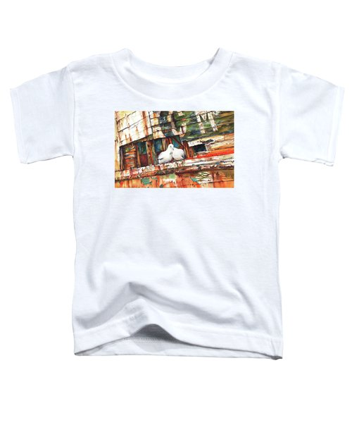 The Dove Boat Toddler T-Shirt