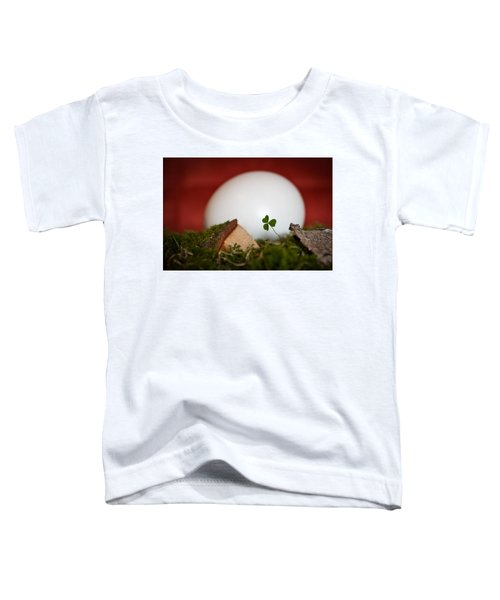 the egg - Happy Easter Toddler T-Shirt