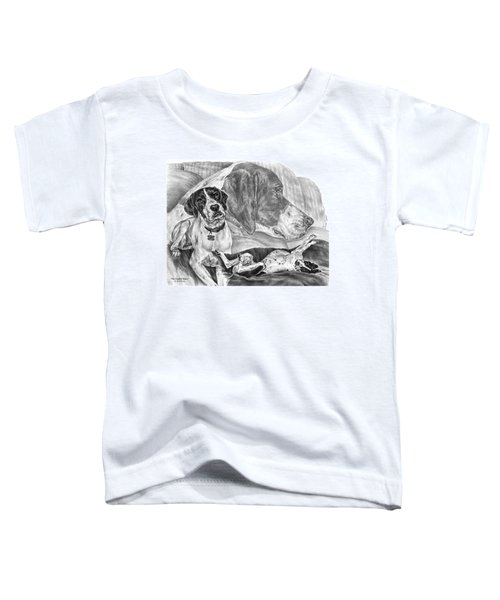 The English Major - English Pointer Dog Toddler T-Shirt