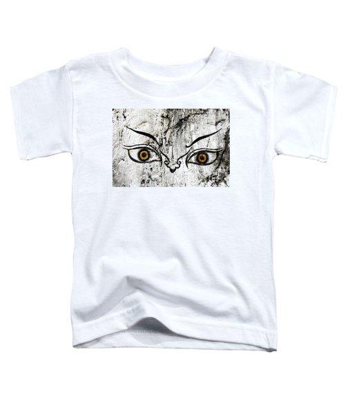 The Eyes Of Guru Rimpoche  Toddler T-Shirt