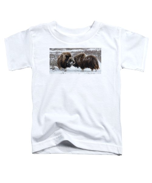 The Face Off  Toddler T-Shirt