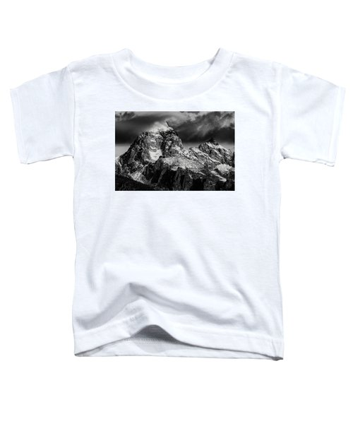 The Grand Teton Toddler T-Shirt by Gary Lengyel