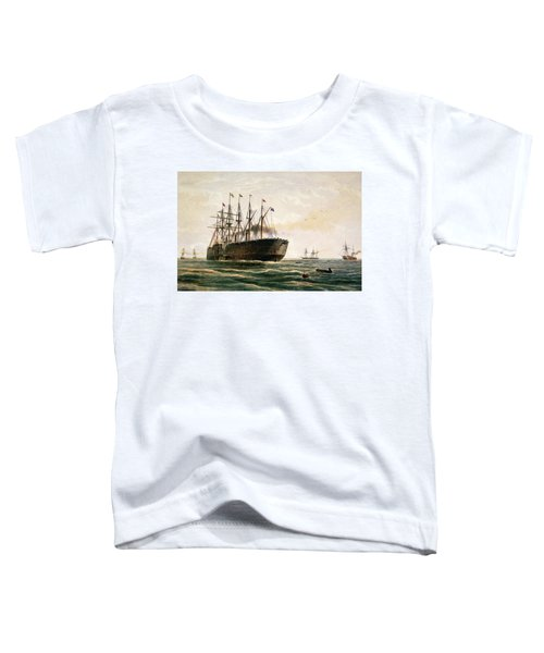 The Great Eastern Under Way Toddler T-Shirt