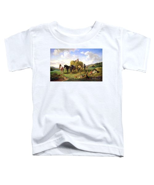 The Hay Harvest Toddler T-Shirt