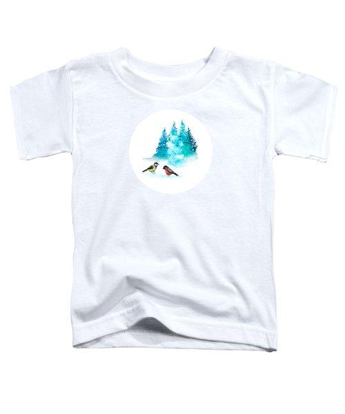 The Heart Of Winter Toddler T-Shirt