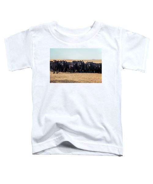 The Herd Rushes In Toddler T-Shirt