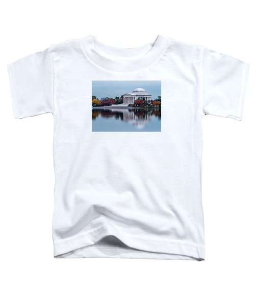 The Jefferson In Baby Blue Toddler T-Shirt