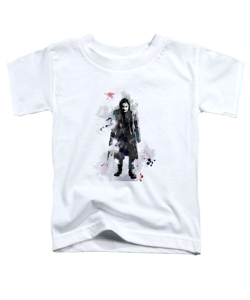 The Joker Toddler T-Shirt by Marlene Watson