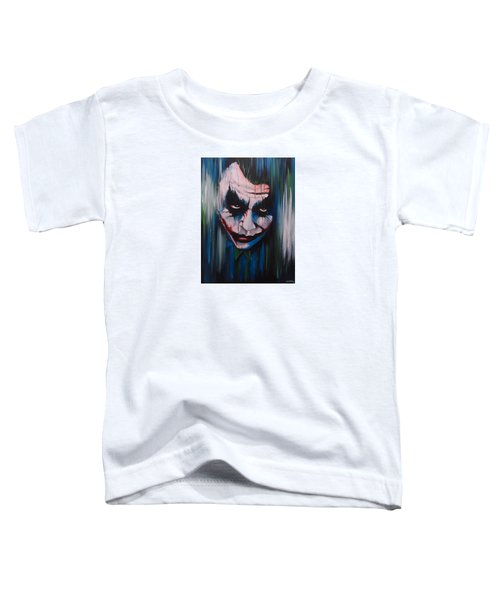 The Joker Toddler T-Shirt by Michael Walden