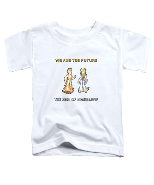 The Kids Of Tomorrow Corie And Albert Toddler T-Shirt
