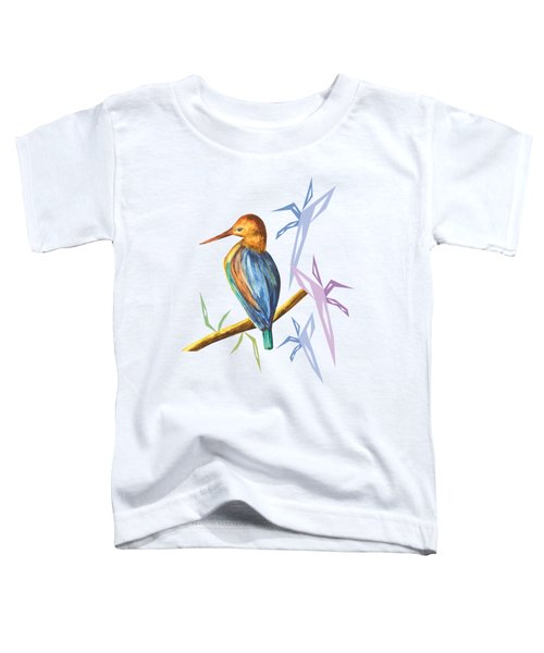 The King Appeared A Toddler T-Shirt by Thecla Correya