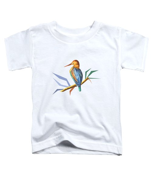 The King Appeared B Toddler T-Shirt by Thecla Correya