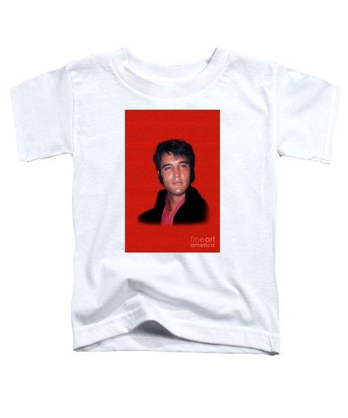 The King Rocks On L Toddler T-Shirt