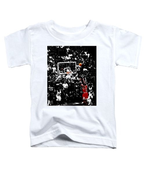 The Last Shot 23 Toddler T-Shirt by Brian Reaves