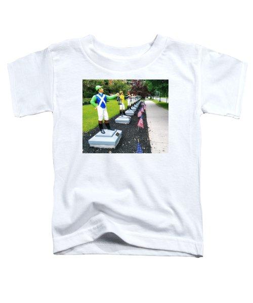 The Lawn Jockeys Of Saratoga Springs Toddler T-Shirt