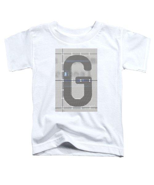 The Letter G Toddler T-Shirt