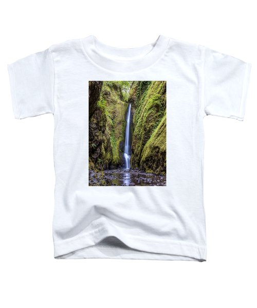 The Lush And Green Lower Oneonta Falls Toddler T-Shirt