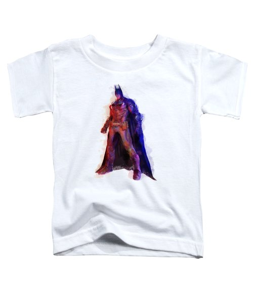 The Man With A Cape Toddler T-Shirt