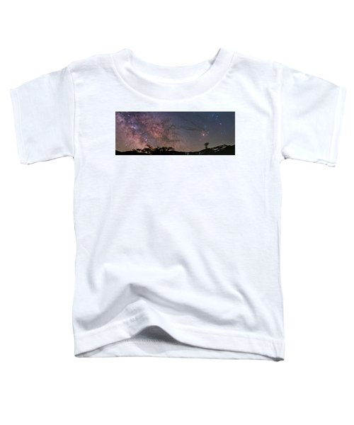 The Milky Way Core Toddler T-Shirt