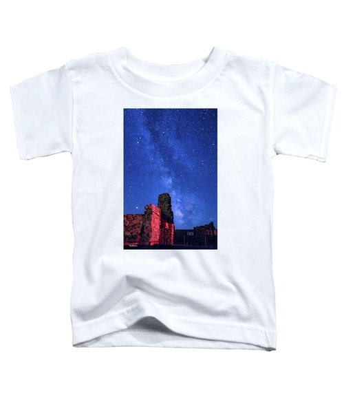 The Milky Way Over The Crest House Toddler T-Shirt
