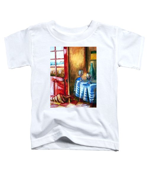 The Mystery Room Toddler T-Shirt by Winsome Gunning