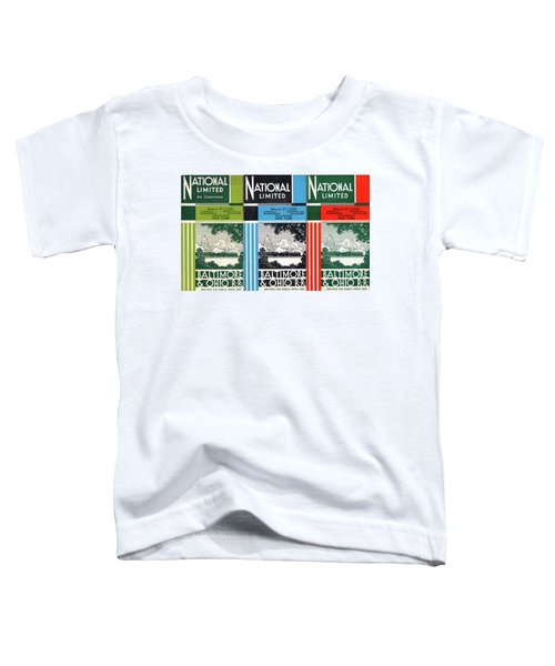 The National Limited Collage Toddler T-Shirt