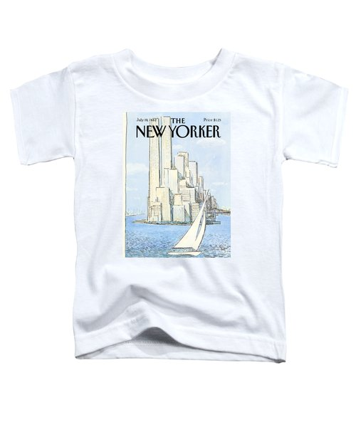 The New Yorker Cover - July 19th, 1982 Toddler T-Shirt